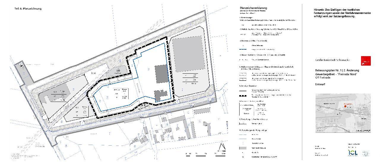 zentrales landesportal bauleitplanung sachsen 2 nderung bebauungsplan nr 1 gewerbegebiet